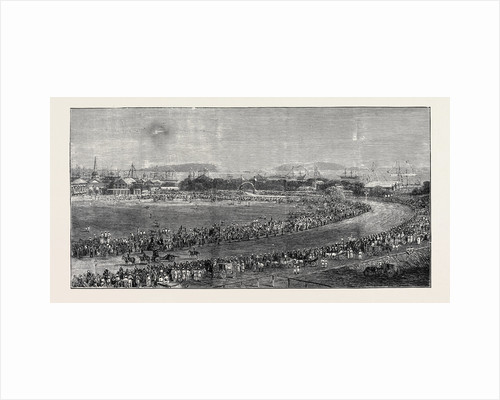 The Grand Durbar at Bombay: View from the West End of Wellington Road, Arrival of Lord Northbrook at Bombay by Anonymous
