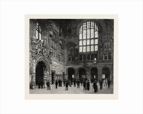 The New Law Courts at Birmingham, Opened by T.R.H. The Prince and Princess of Wales: The Great Hall of the New Law Courts by Anonymous