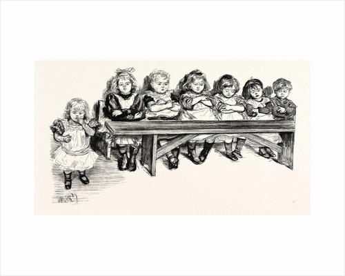 Free Education, the Babies' Bench by Anonymous