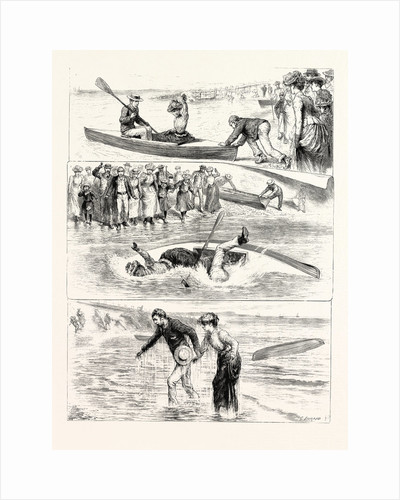 A Canoeing Incident at the Seaside by Anonymous