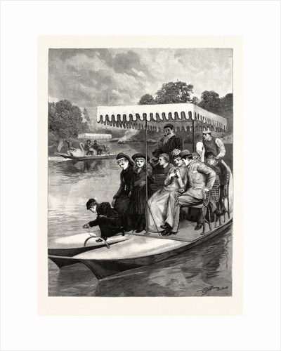 Water Bicycles on the Lake in the Central Park, New York by Anonymous