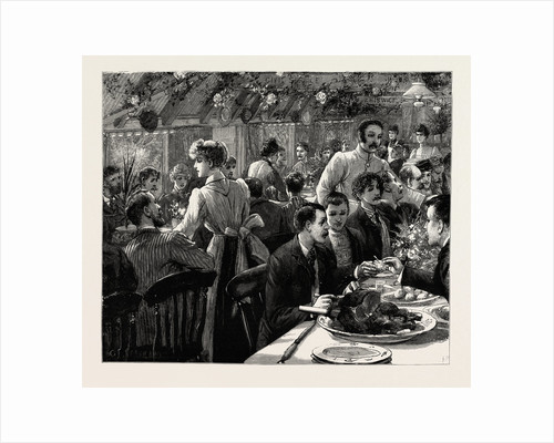 The Cyclists' Sunday Dinner at Ripley: The Clubs at Dinner by Anonymous