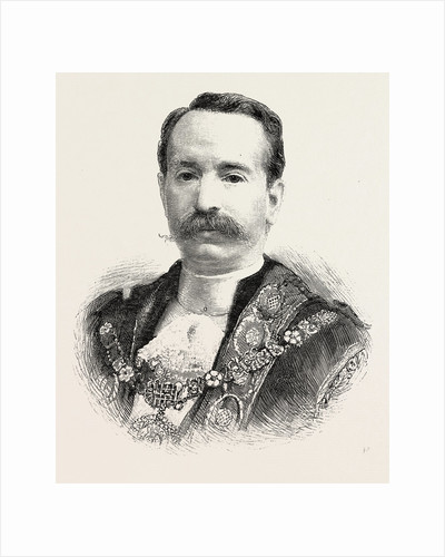 The New Lord Mayor, Mr. Alderman David Evans by Anonymous