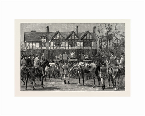 Presentation of a Silver Statuette to Mr. W.E. Oakeley on His Retirement from the Mastership of the Atherstone Hounds by Anonymous