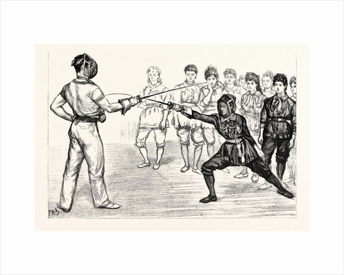 Whitechapel Way: A Fencing Class at the People's Palace; a Bout with the Foils by Anonymous