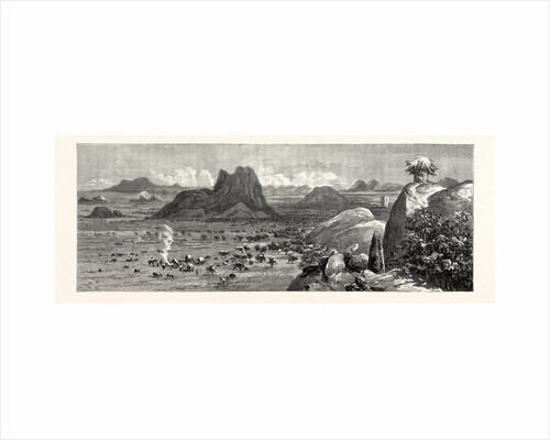 Lord Randolph Churchill in South Africa; a Sketch of the Country from Matipi's Kraal by Anonymous