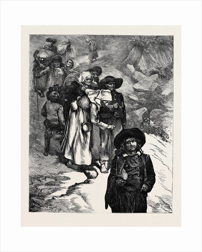 Beggars in Brittany by Anonymous