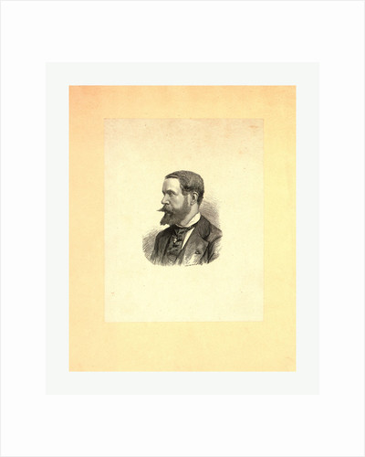 Gaston Tissandier, French Balloonist, Head-and-Shoulders Portrait, Between 1860 and 1900 by Anonymous