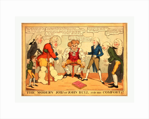 The Modern Job! or John Bull and His Comforts! by Anonymous