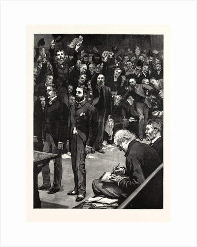 The Defeat of the Gladstone Ministry, Tuesday Morning, June 9, 1885 by Anonymous