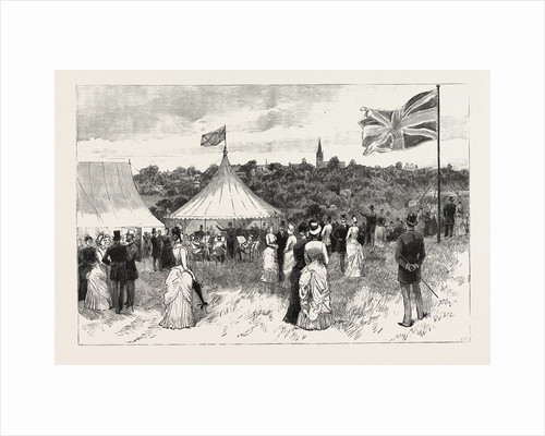 The Proposed Purchase of Parliament Hill, Hampstead, and the Adjacent Fields by the Metropolitan Board of Works: The Garden Party Given by the Hampstead Heath Extension Committee by Anonymous