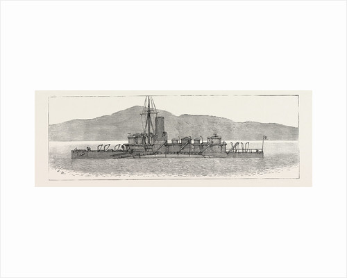 The Particular Service Squadron in Bantry Bay: The Polyphemus in Her War-Paint, Showing Her Relative Tone with the Sea and Land by Anonymous