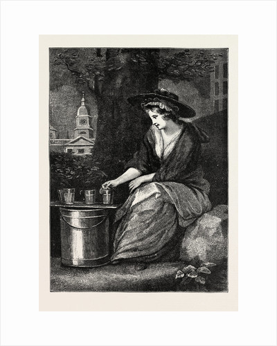 The Evictions at Milk Fair, St. James's Park, a Milk Girl of the Olden Time by Anonymous