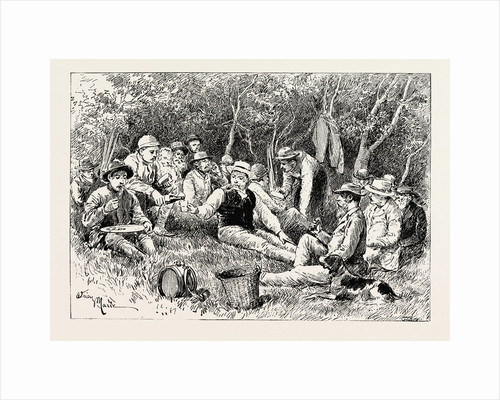 A Buck-Hunting Excursion in South Africa: Tiffin in the Bush by Anonymous