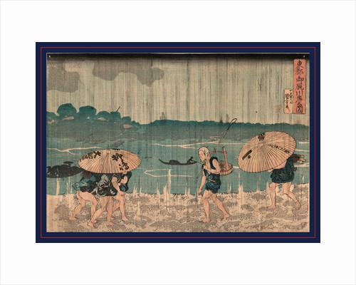 Oumayagashi No Zu, Utagawa by Anonymous
