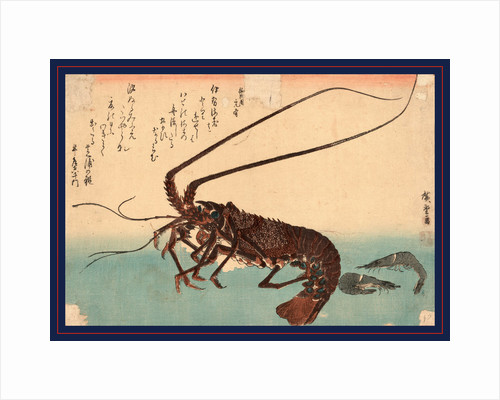 Ise Ebi to Shiba Ebi, Shrimp and Lobster by Anonymous