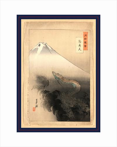 Ryu shoten, Dragon rising to the heavens by Ogata Gekko
