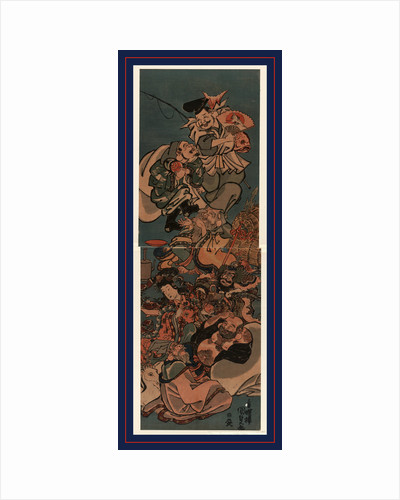 the Seven Lucky Gods in Japanese Mythology by Anonymous