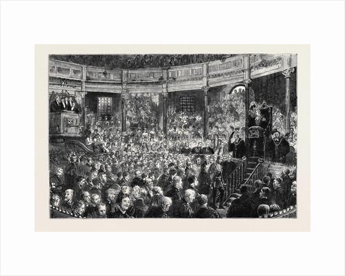 Oxford, Commemoration: The Theatre: An Honorary D.C.L.: Placet Ne Vobis, Doctores? Placet Ne Vobis, Magistri? by Anonymous