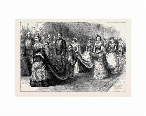 Wedding procession posters wedding procession prints the wedding procession in st georges chapel the second procession her majesty the junglespirit Images