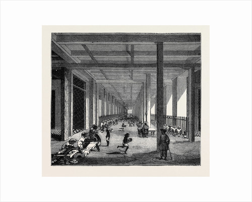 The Indo-Chinese Opium Trade, at an Opium Factory at Patna: The Balling Room by Anonymous