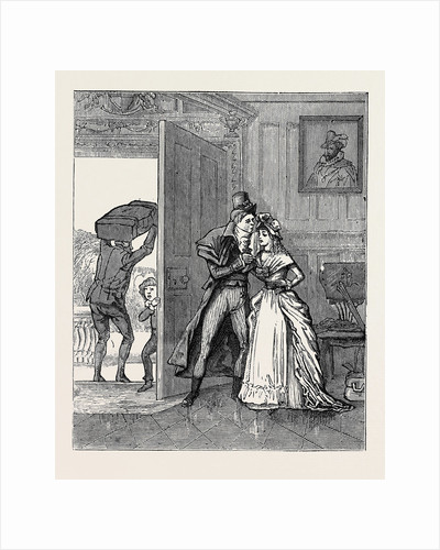 How I Joined the Hundred-and-Fiftieth, a Reminiscence of the Eighteenth Century: Sad Parting with Cousin Louisa by Anonymous