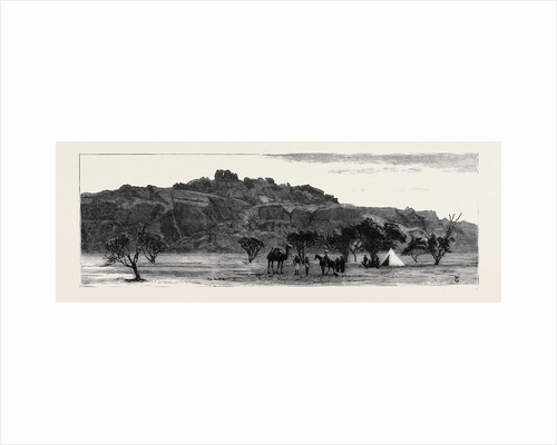 The Giant Vellar Rock, Bellary, Madras by Anonymous