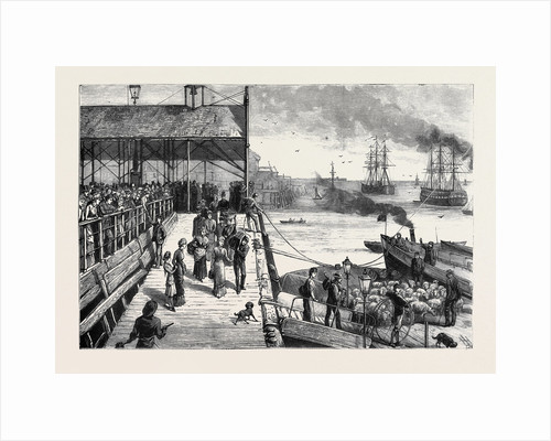 Hull: The Pier-Steamer Leaving for New Holland by Anonymous