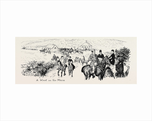 At a Deer Hunt on Exmoor by Anonymous