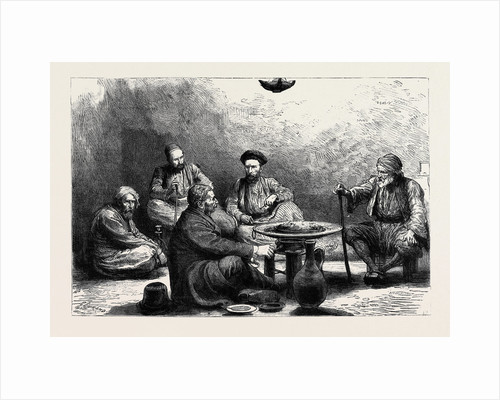 A Christmas Dinner in a Turkish Prison, Constantinople by Anonymous