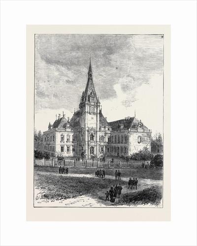 Schloss Kleinzschocher, Near Leipzig, Residence of Baron Tauchnitz by Anonymous