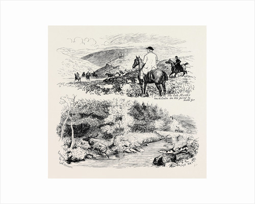 A Deer Hunt on Exmoor by Anonymous