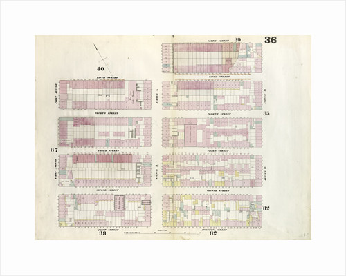 Map bounded by 5th Street, Avenue A, 6th Street, Avenue B, 1st Street, First Avenue. 1857 by Anonymous