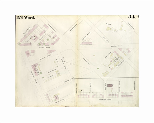 Map bounded by Carroll Street, Columbia Street, Rapelye Street, Henry Street, Luquer Street, Commerce Street, Richards Street by Anonymous