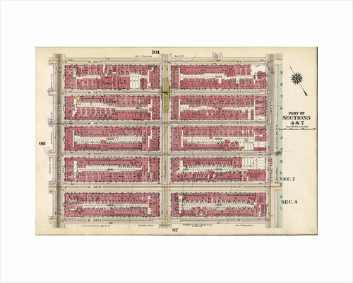 Bounded by W. 100th Street, Central Park West, W. 95th Street, and Amsterdam Avenue, New York by Anonymous