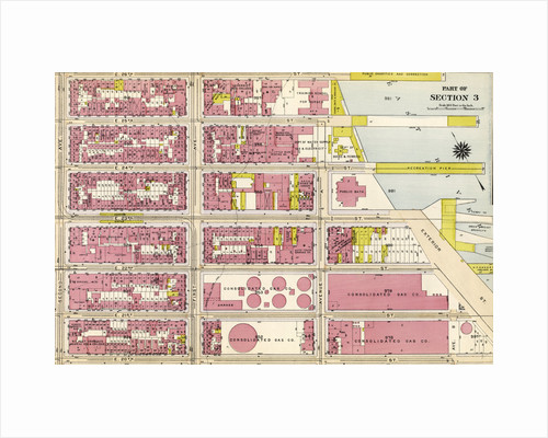 Bounded by E. 26th Street, East River Piers 74-70, Exterior Street, E. 20th Street, and Second Avenue, New York by Anonymous