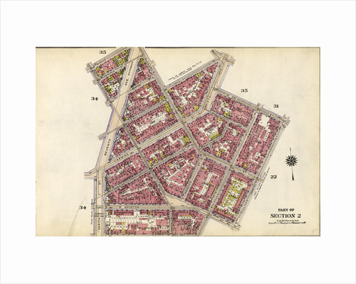 Bounded by Barrow Street, Bleecker Street, Cornelia Street, Sixth Avenue, W. 3rd Street, Sullivan Street, Bedford Street, Macdougal Street, King Street, Varick Street and Second Avenue Extension, New York by Anonymous
