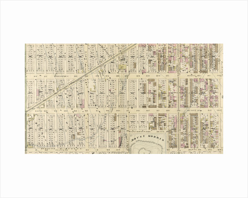 Bounded by Eighth Avenue, W. 129th Street, Fifth Avenue, W. 124th Street, Madison Avenue, W. 120th Street, Fifth Avenue and W. 110th Street, New York by Anonymous