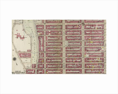 Bounded by W. 136th Street, Fifth Avenue, W. 125th Street, and Morningside Avenue, New York by Anonymous