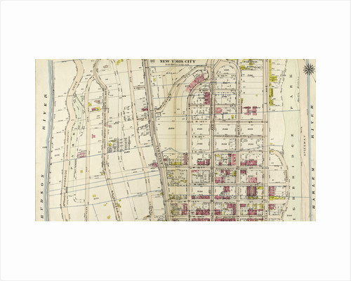 Bounded by Harlem River, W. 182nd Street, W. 183rd Street, and Hudson River, New York by Anonymous