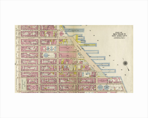 Bounded by E. 25th Street, Exterior Street East River, Avenue C, E. 14th Street, and Second Avenue, New York by Anonymous