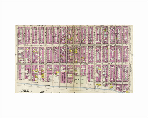 Bounded by Second Avenue, E. 84th Street, East End Avenue, East River Exterior Street, and E. 68th Street, New York by Anonymous