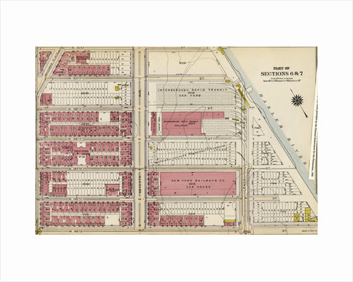 Bounded by W. 151st Street, Seventh Avenue, W. 150th Street, Harlem River Lenox Avenue, W. 145th Street and Eighth Avenue, New York by Anonymous
