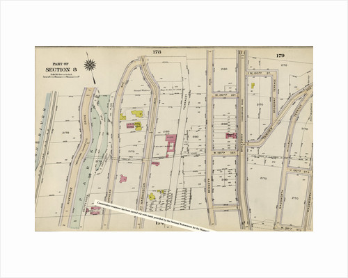 Bounded by Northern Avenue, Wadsworth Avenue, W. 188th Street and Hudson River Riverside Drive, New York by Anonymous