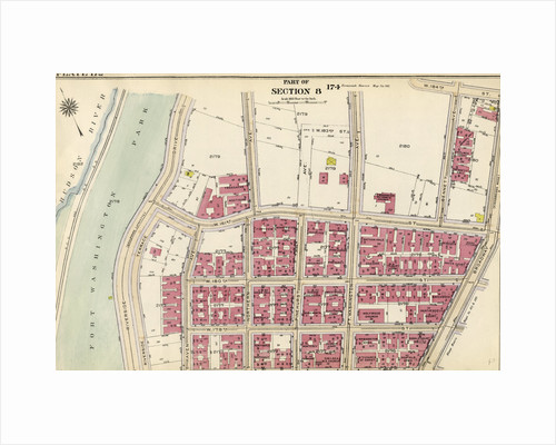 Bounded by W. 181st Street, Bennet Avenue, W. 184th Street, Broadway, W. 178th Street and Fort Washington Park, Hudson River Riverside Drive, New York by Anonymous