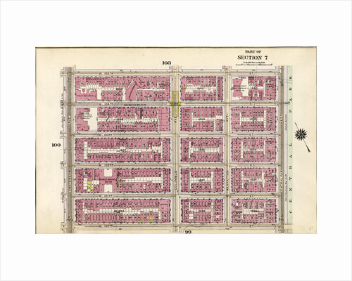 Bounded by W. 105th Street, Central Park West, W. 100th Street and Amsterdam Avenue, New York by Anonymous