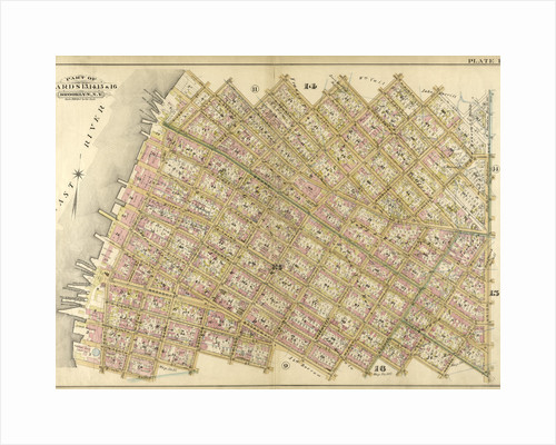 Bounded by N. Second Street, Kent Avenue, N. Third Street, Wythe Avenue, N. Fifth Street, Berry Street, N. Seventh Street, Bedford Avenue, N. Ninth Street, Driggs Street, N. 10th Street, Union Avenue, S. Second Street, Hooper Street, S. Third S., New York by Anonymous