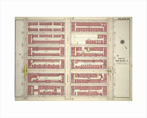 Bounded by W. 139th Street, Lenox Avenue, W. 133rd Street and Eighth Avenue, New York by Anonymous