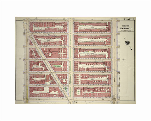 Bounded by W. 122nd Street, Lenox Avenue, W. 116th Street and Eighth Avenue, New York by Anonymous