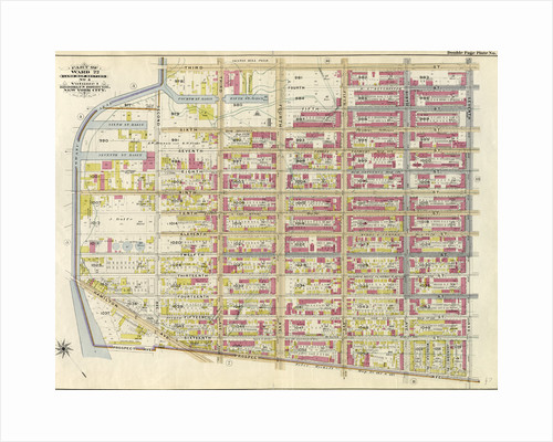 Part of Ward 22. Land Map Section, No. 4, Volume 1, Brooklyn Borough, New York City by Anonymous